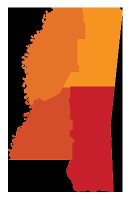 mississippi-regions